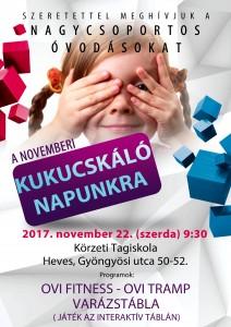 NOVEMBER KUKUCSKÁLÓ 2017